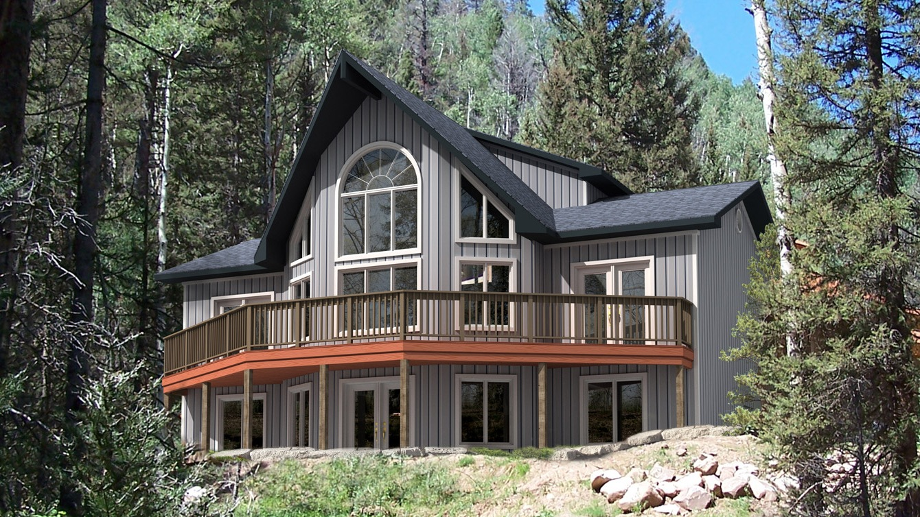 Beaver homes and cottages taylor creek ii for Home hardware cottage packages