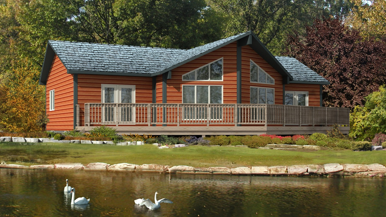 Beaver homes and cottages banff i for Home hardware cottage packages