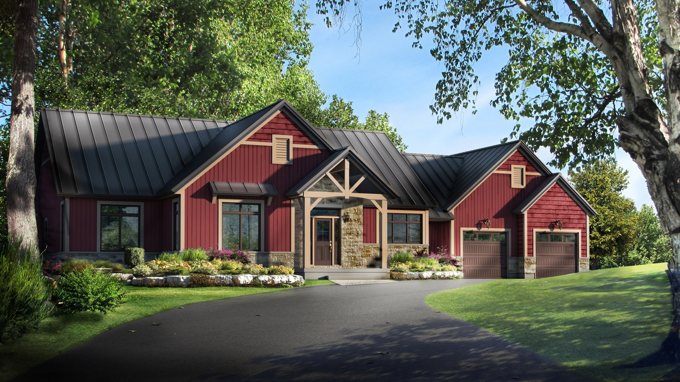 Beaver homes and cottages elk ridge for Home hardware cottage packages