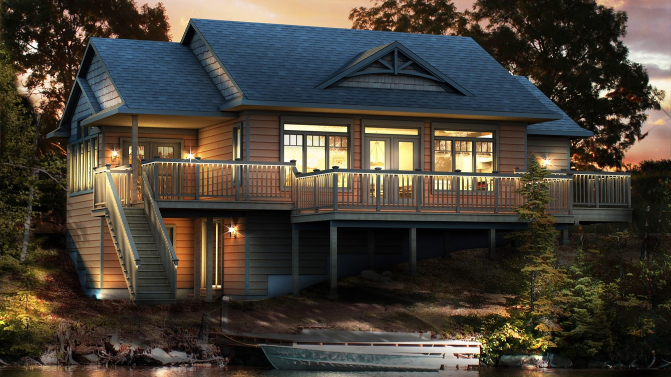Beaver homes and cottages peppermill for Home hardware cottage packages