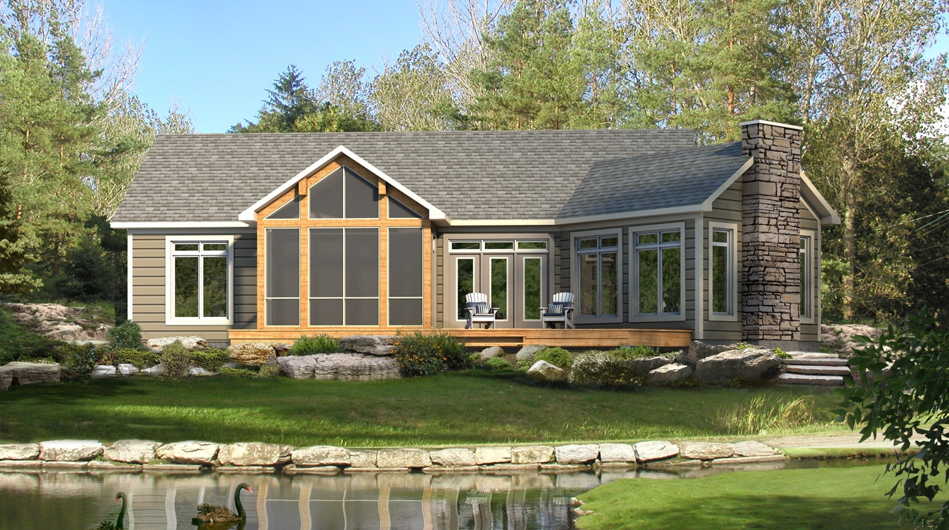 Beaver homes and cottages stillwater for Home house plans