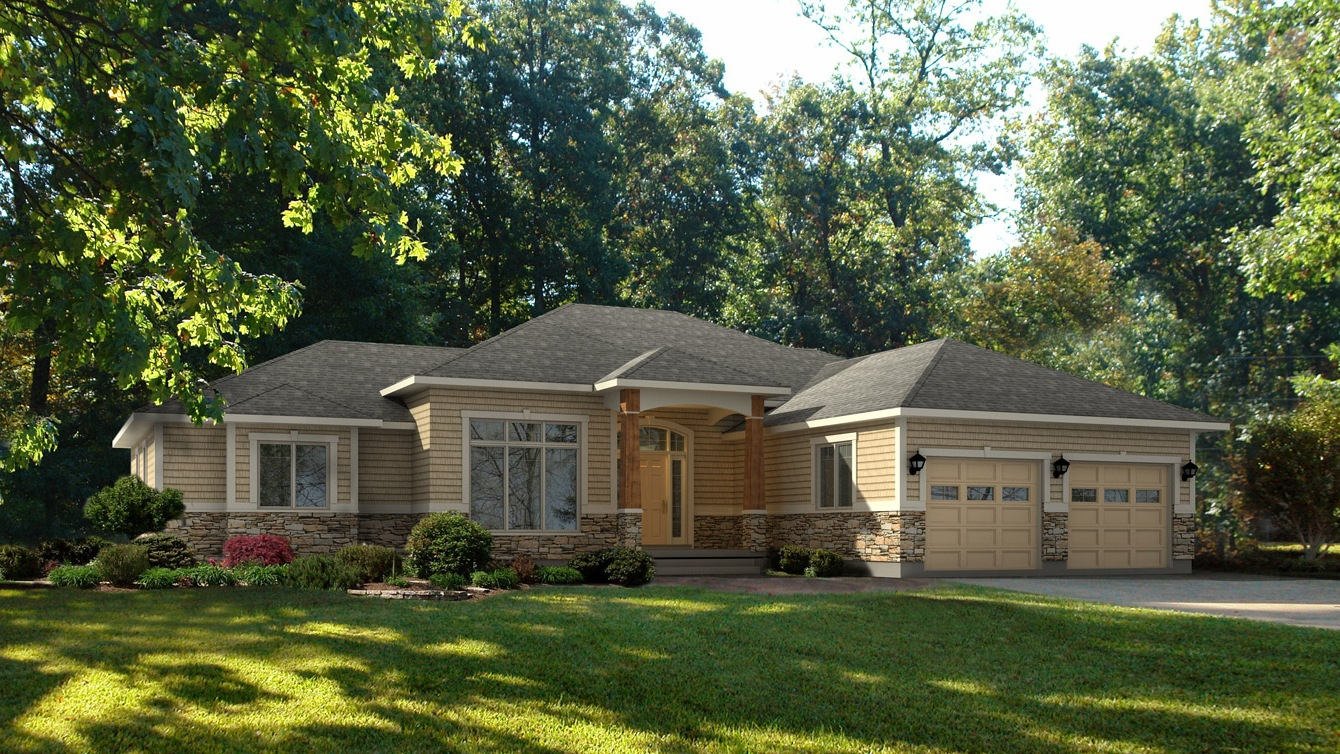 Beaver homes and cottages cobble hill for Home hardware cottage packages