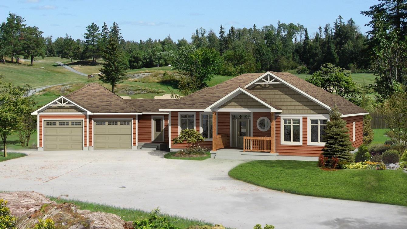 Beaver homes and cottages corner brook for Home hardware cottage packages