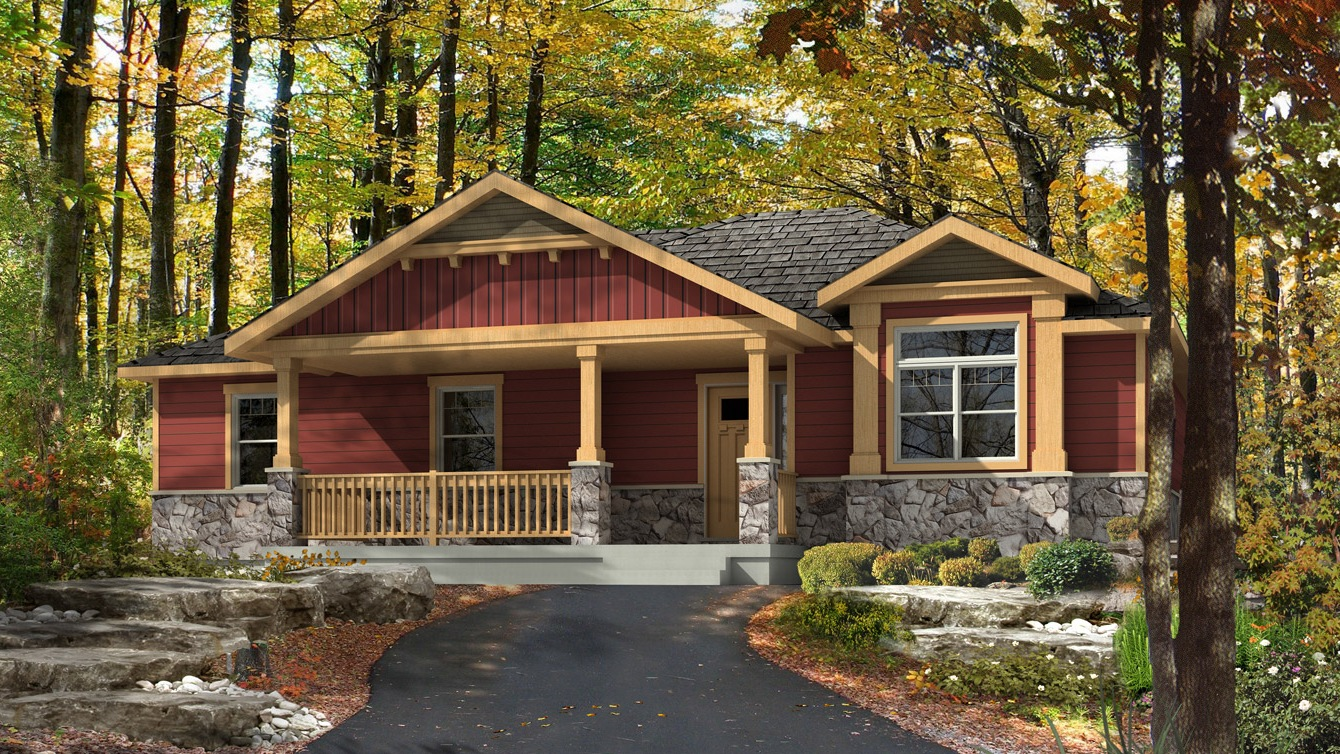 Beaver homes and cottages cottonwood for Home hardware cottage packages