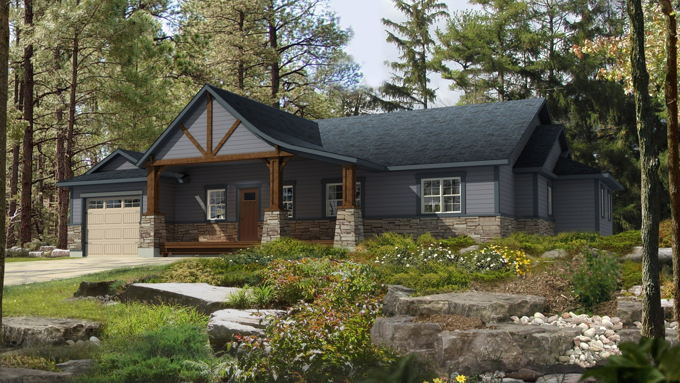 Beaver homes and cottages inglenook for Beaver home designs