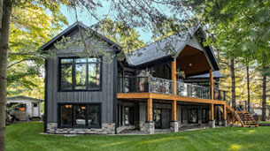 Retiring to a custom-built cottage