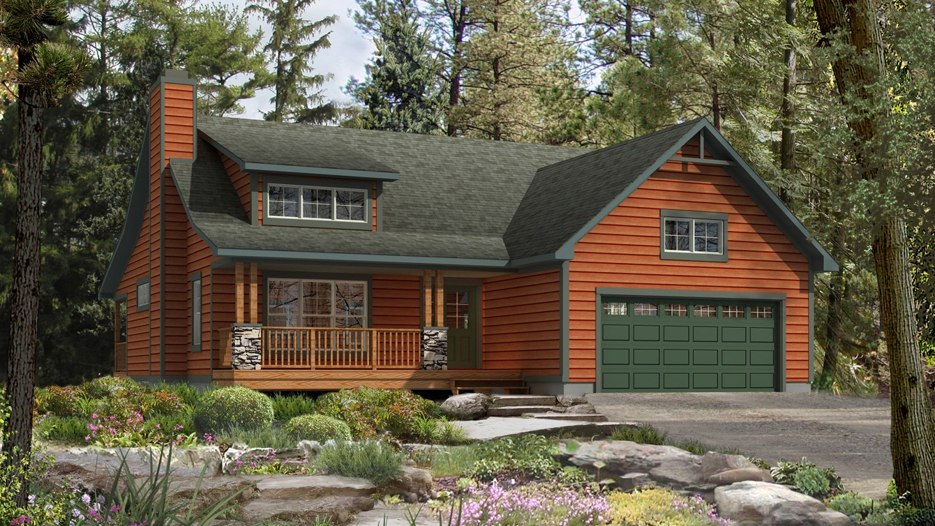 Beaver homes and cottages mapleton for Home hardware cottage packages