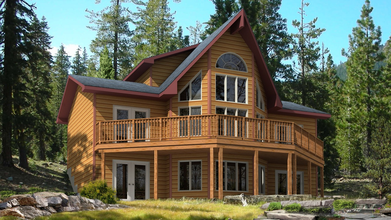Beaver homes and cottages taylor creek i for Home hardware cottage packages