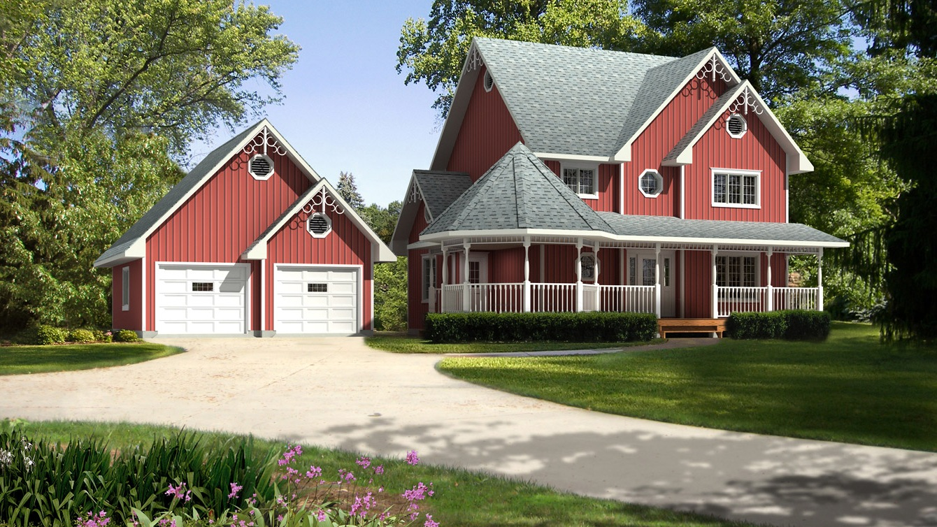 Beaver homes and cottages avonlea for Home hardware cottage packages