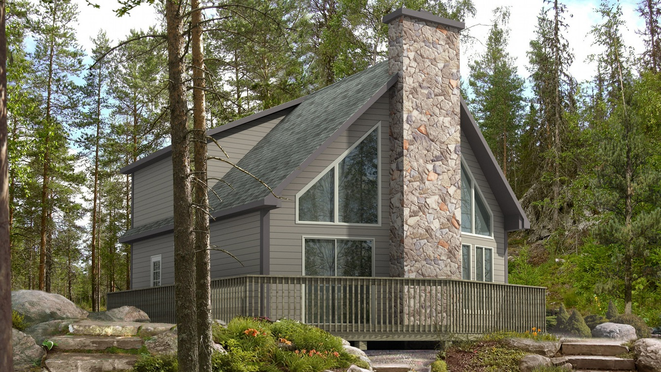 Beaver homes and cottages trillium for Home hardware cottage packages