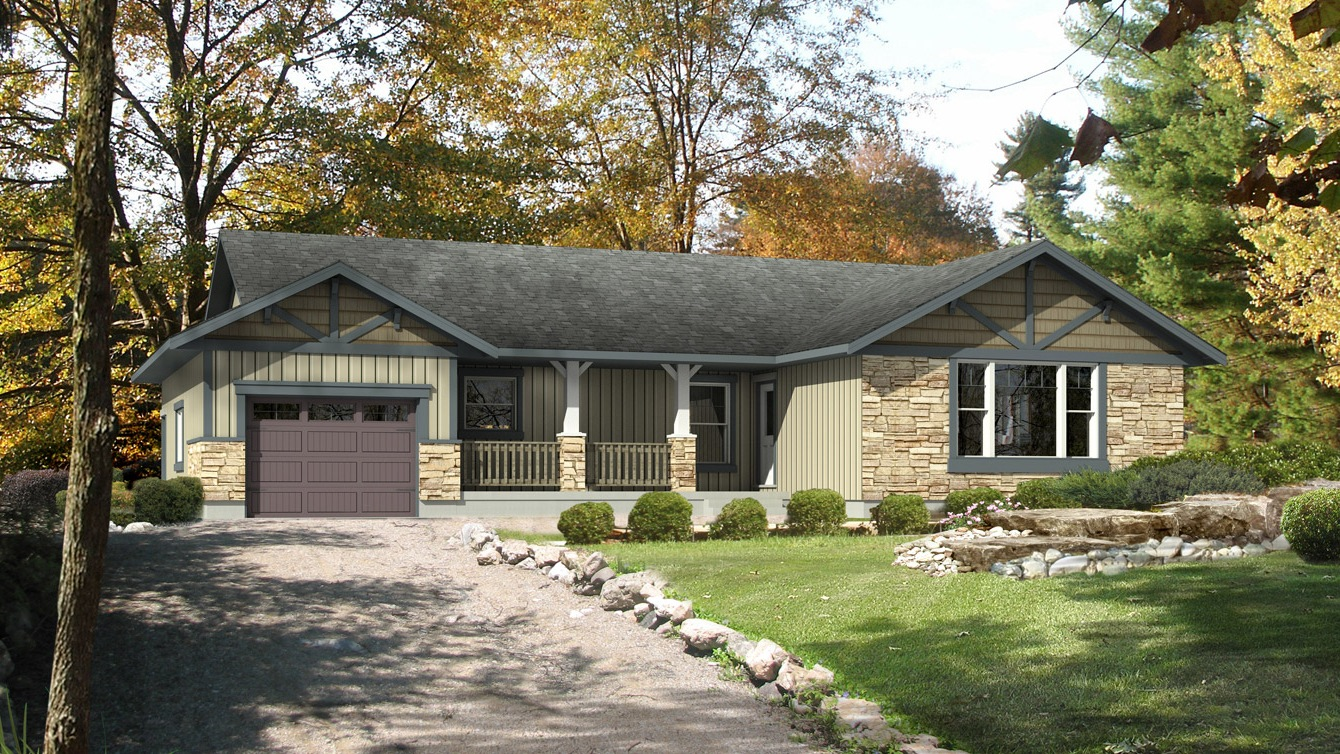 Beaver homes and cottages winfield ii for Home hardware cottage packages