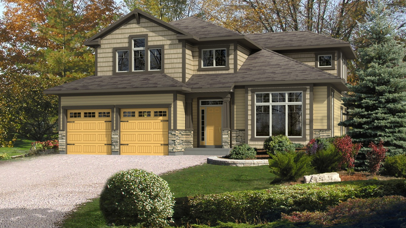Beaver homes and cottages cranbrook for Home hardware cottage packages