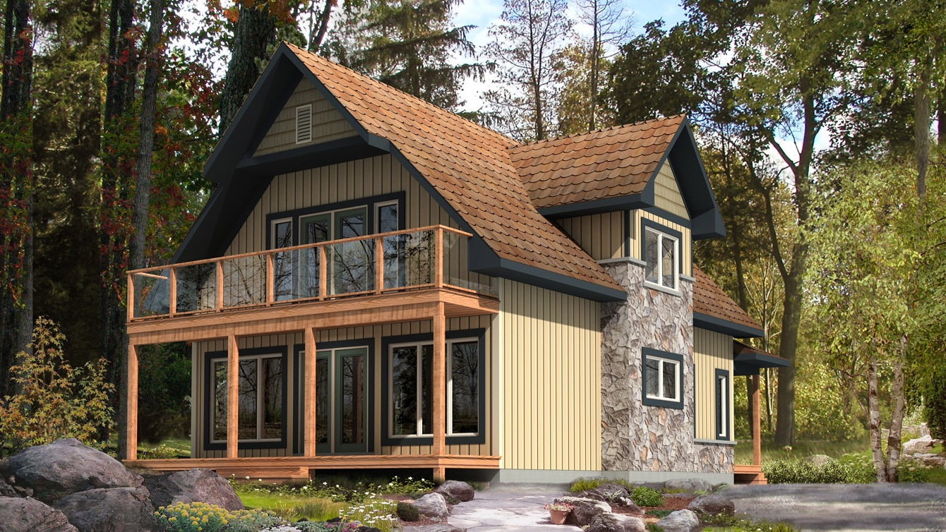 Beaver homes and cottages selkirk for Home hardware cottage packages