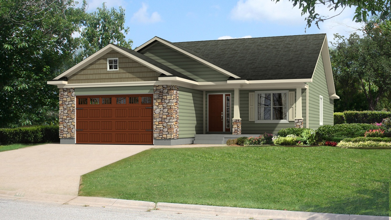 Beaver homes and cottages brandon ii for Home hardware cottage packages