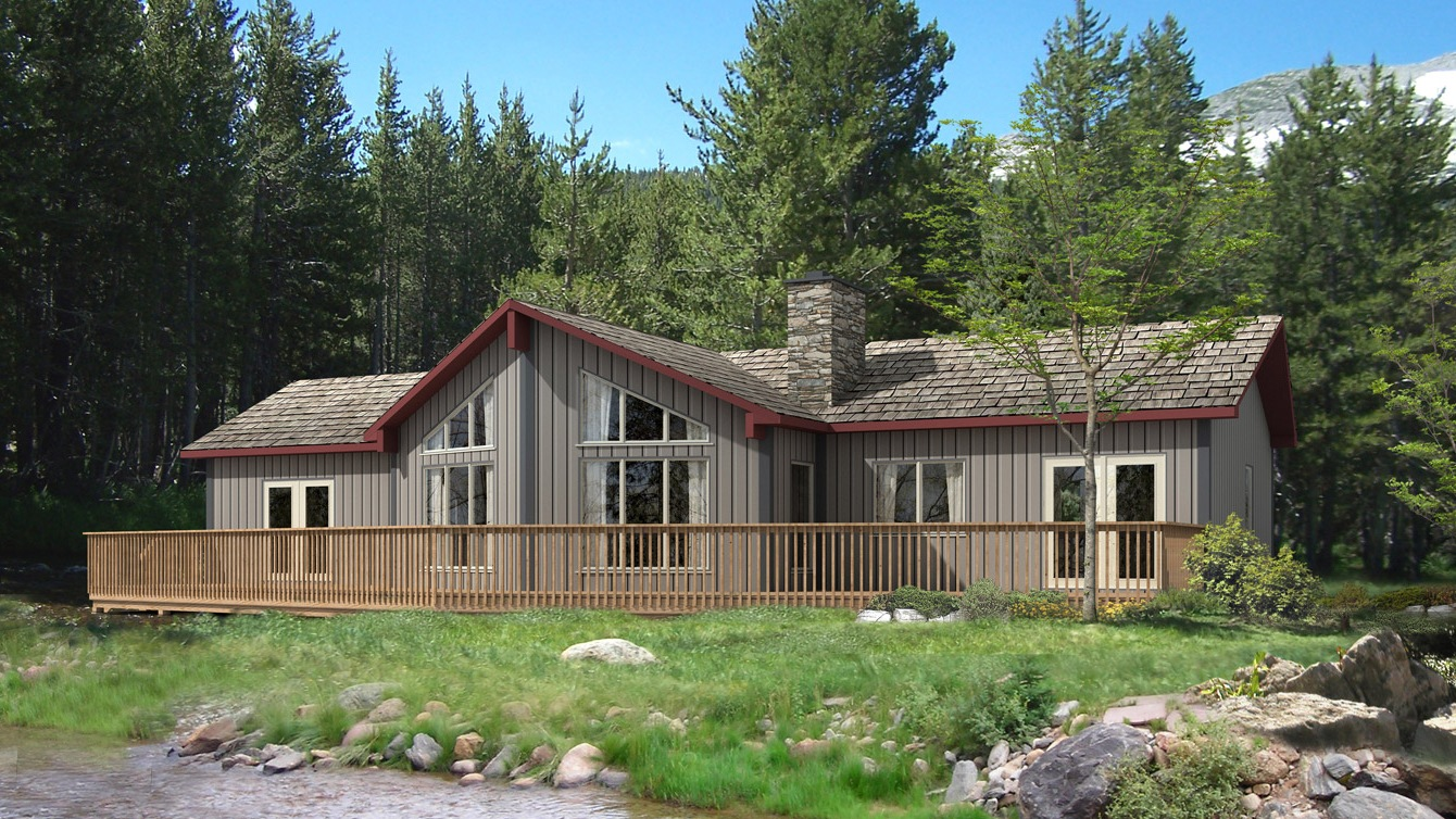 Beaver homes and cottages banff iii for Home hardware cottage packages