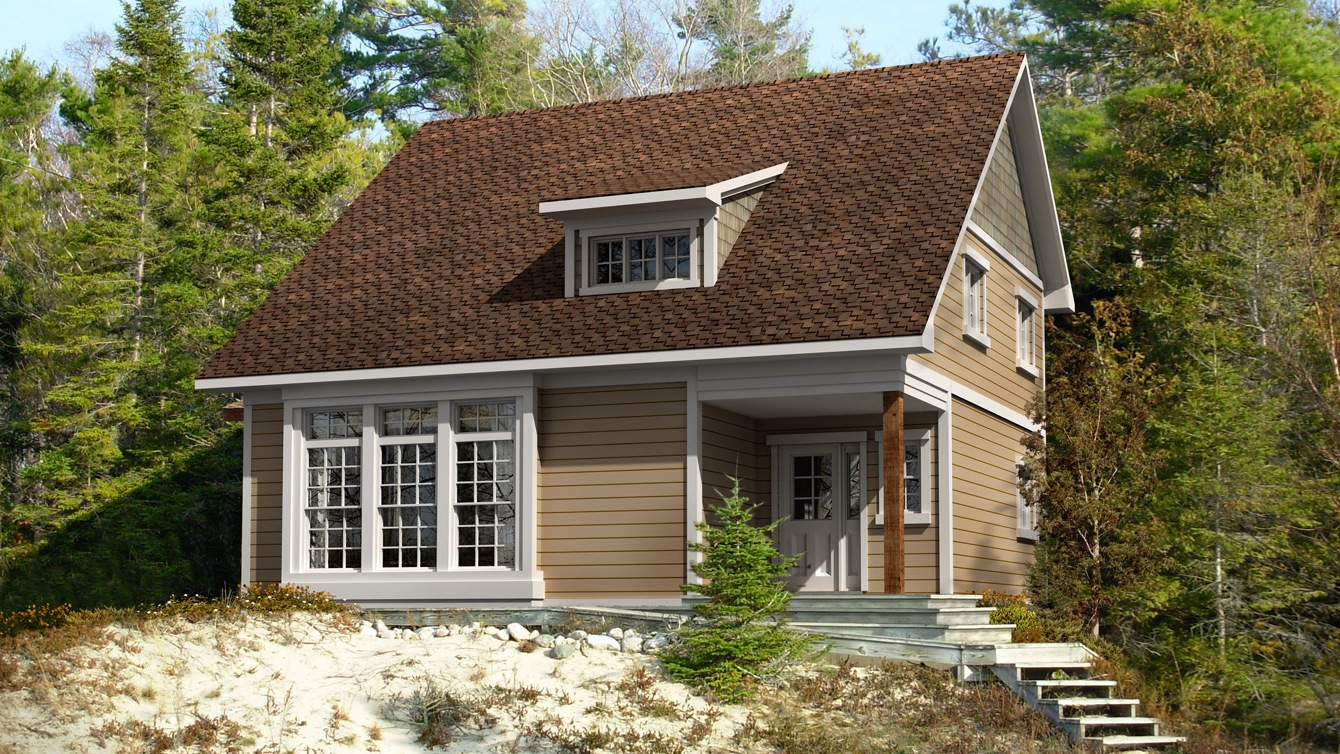 Beaver homes and cottages bolero for Home hardware cottage packages