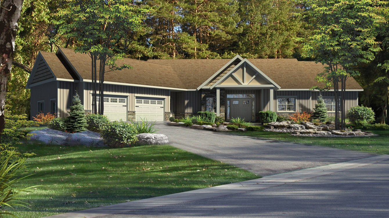 Beaver homes and cottages eddystone for Home hardware cottage packages