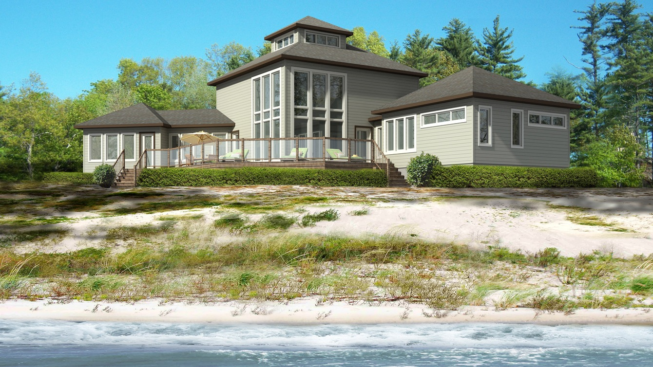 Beaver homes and cottages sandpiper lodge for Home hardware cottage packages