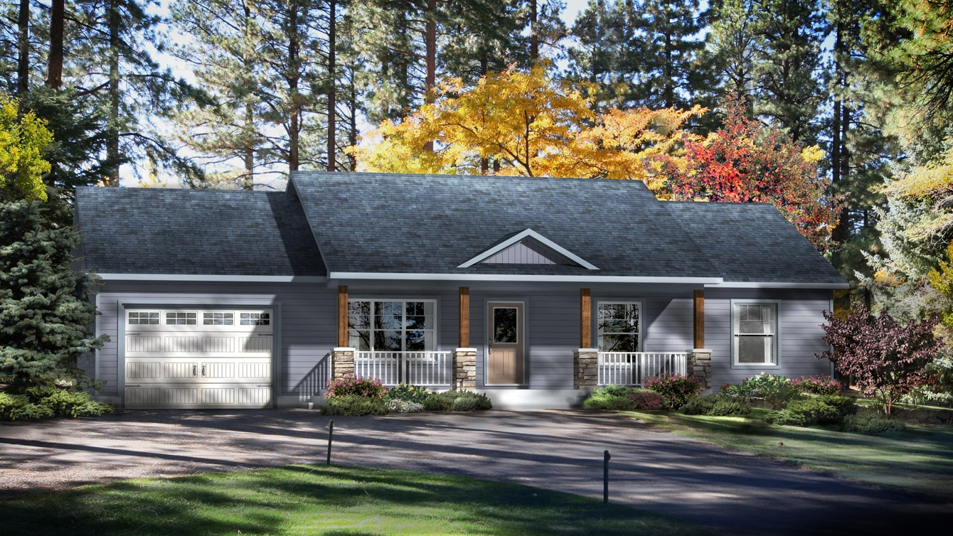 Beaver homes and cottages kimberly ii for Home hardware cottage packages