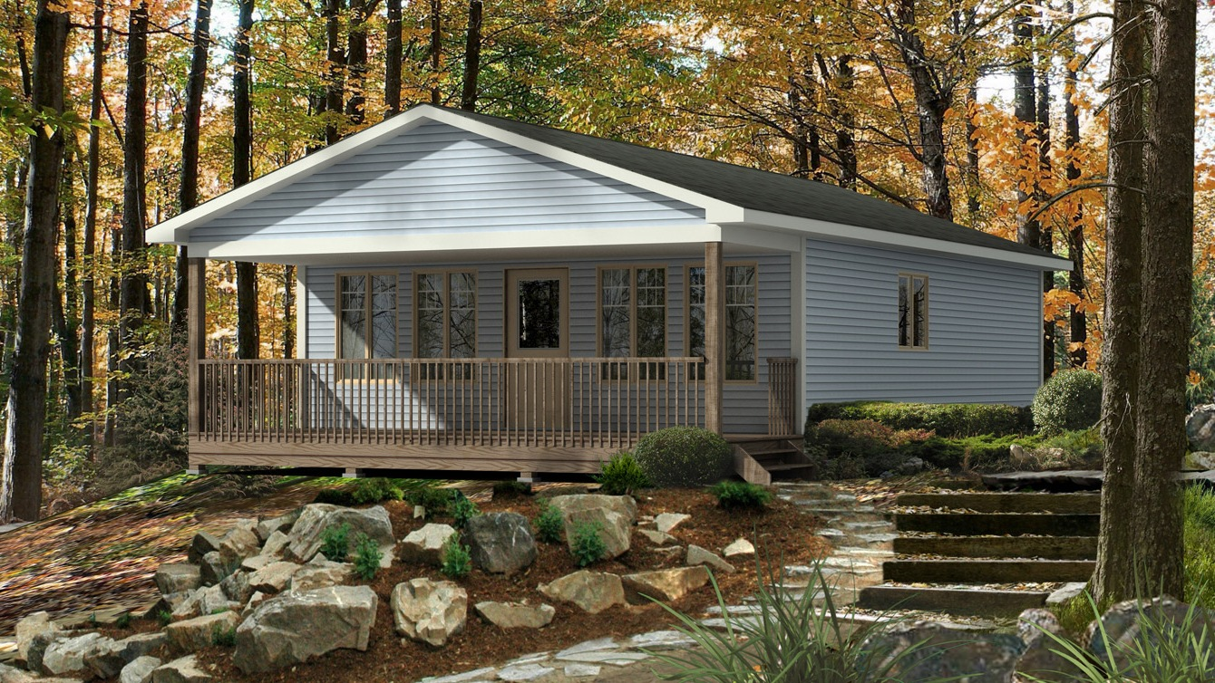 Beaver homes and cottages bayside iii for Home hardware cottage packages