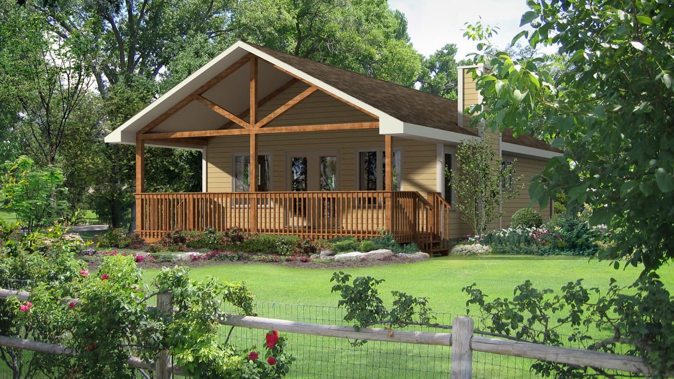 Beaver homes and cottages baywood i for Home hardware cottage packages