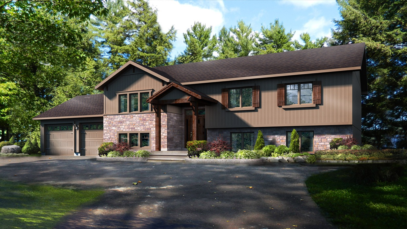 Beaver homes and cottages woodridge iii for Home hardware cottage packages
