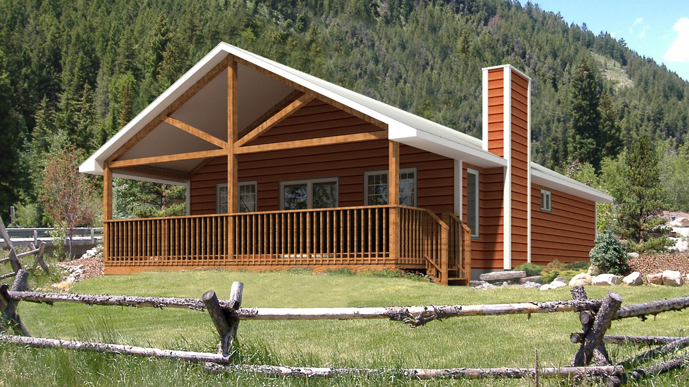 Beaver homes and cottages baywood ii for Home hardware cottage packages