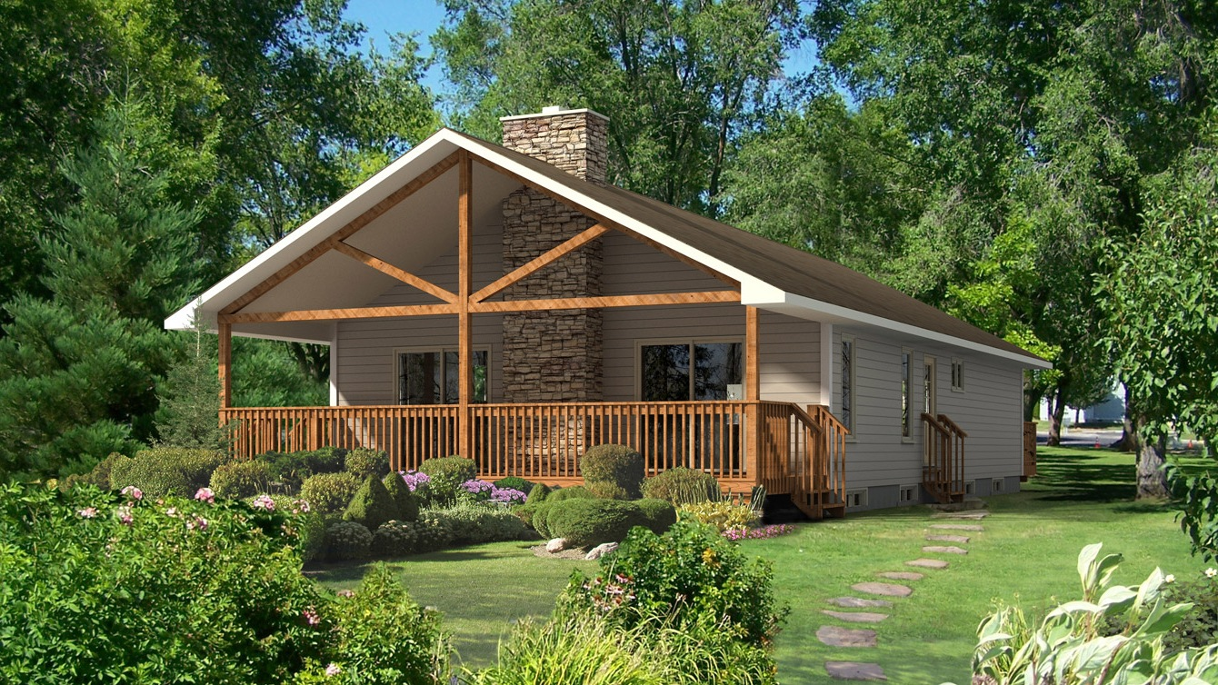 Beaver homes and cottages baywood iii for Home hardware cottage packages