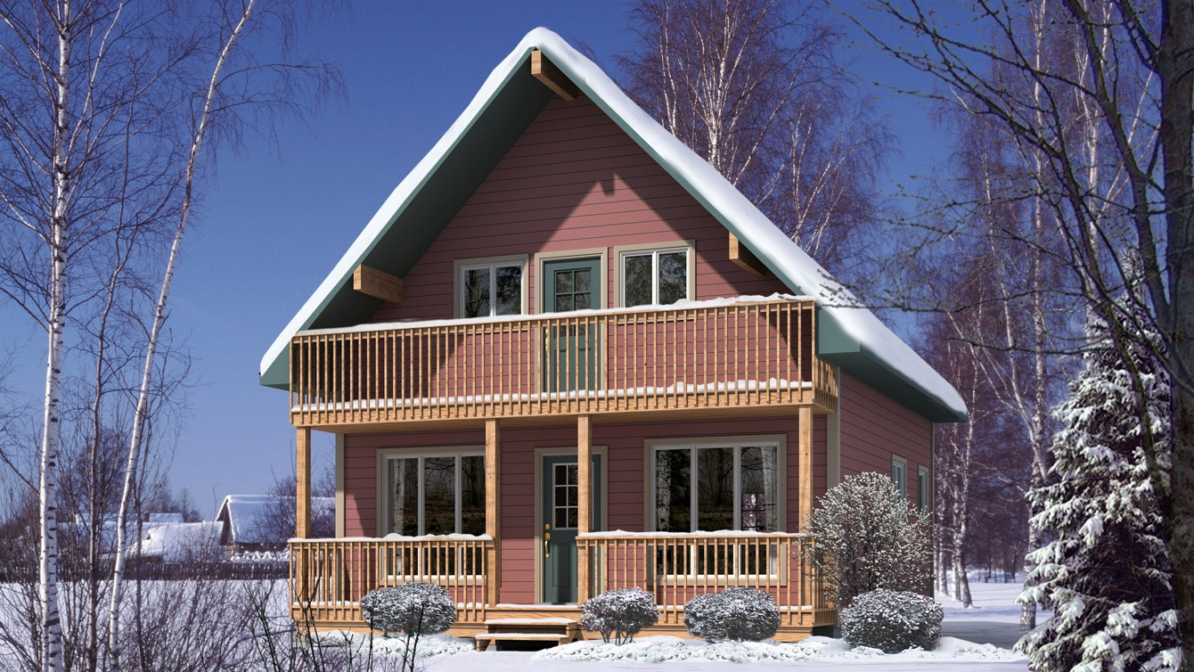 Beaver homes and cottages caledon i for Home hardware cottage packages