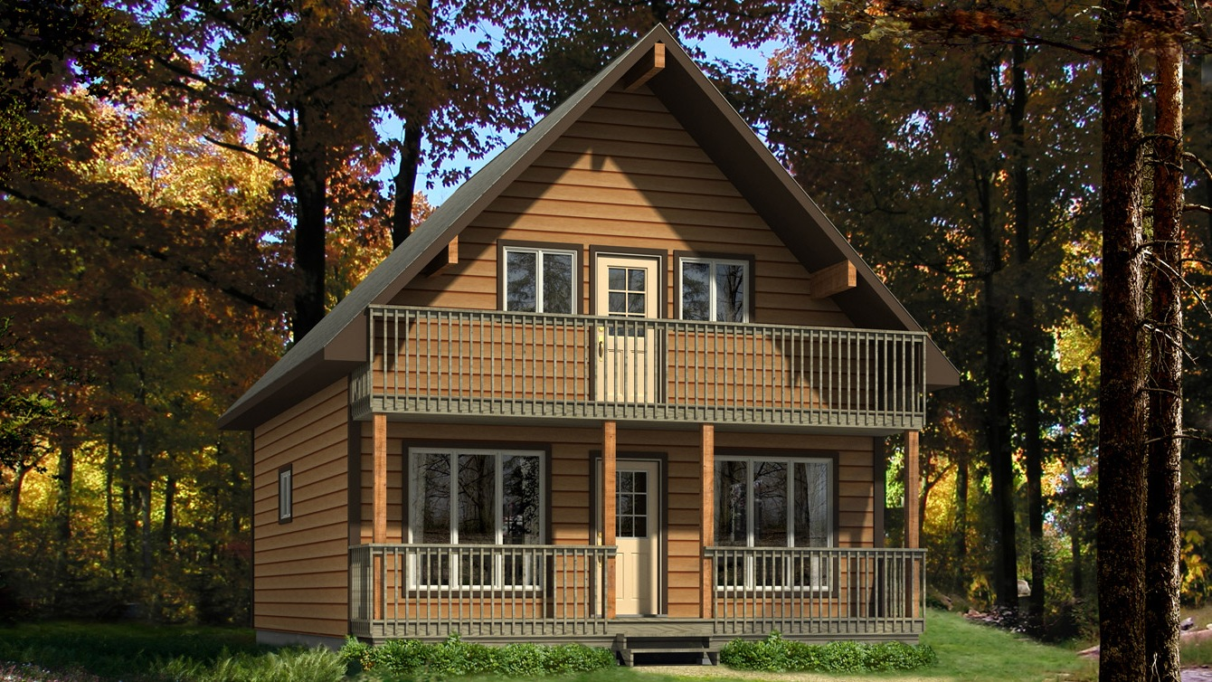 Beaver homes and cottages caledon ii for Home hardware cottage packages