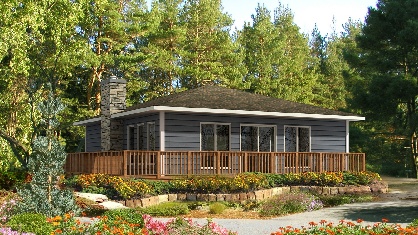 Beaver homes and cottages fairmont for Home hardware cottage packages