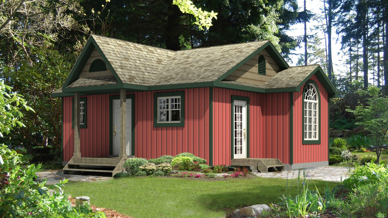 Beaver homes and cottages laurier for Home hardware cottage packages