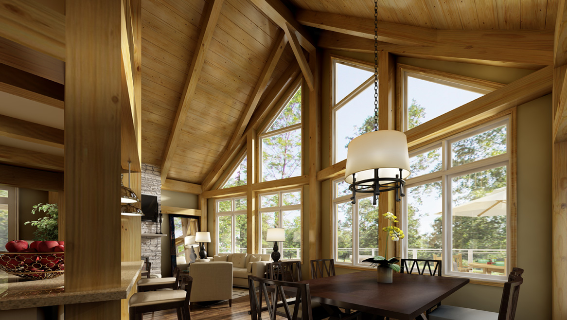 Beaver Homes and Cottages - What's Included Timber Frame